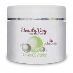 Beauty Day Body Expert vitalitás krémolaj masszázskrém és testápoló, 500ml