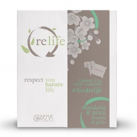Relife ajándékcsomag mandula és őszibarack illattal