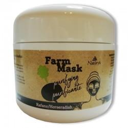 Fekete retek arcmaszk - 250 ml
