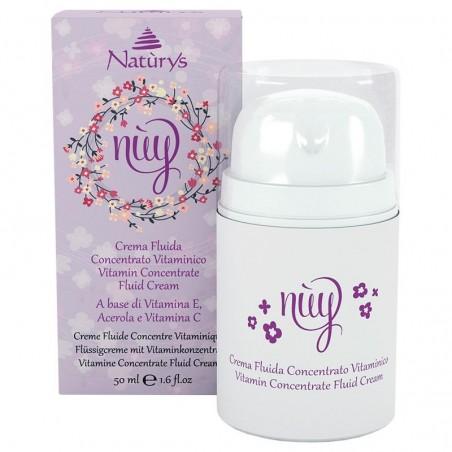 Vitamin koncentrátum folyékony arckrém - NUY
